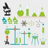 Laboratoire chimique Photographie stock libre de droits