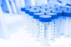 Laboratoire de biotechnologie Photo stock