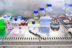 Laboratoire de chimie photographie stock