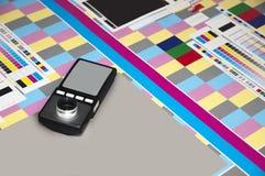 Laboratoire de colorimétrie Photo libre de droits