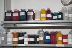 Laboratoire de colorimétrie Photo stock