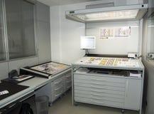 Laboratoire de colorimétrie Photographie stock libre de droits