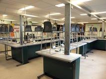 Laboratoire de science d'école Photo libre de droits
