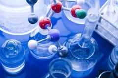 laboratoire en verre Photographie stock