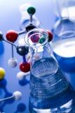 laboratoire en verre Photos libres de droits