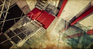Laboratoire. Intérieur industriel moderne, escaliers, l'espace propre dedans i Photographie stock