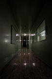 Laboratoire rampant de fantôme photo stock