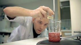 laboratorian增加一种成份入个人照料产品 影视素材