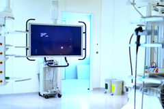 Laboratories in hospitals. In advanced science Royalty Free Stock Photography