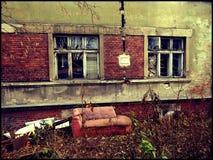 Laboratorio abandonado del meth imagenes de archivo