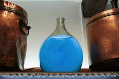 Laboratorio antiguo del perfume en el pueblo Gourdon Foto de archivo