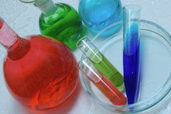 Laboratorio chimico Immagine Stock Libera da Diritti