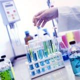 Laboratorio chimico Fotografia Stock Libera da Diritti