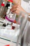 Laboratorio, ciencia, científico, investigación, atención sanitaria y Medici Foto de archivo libre de regalías