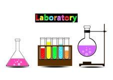 Laboratorio colorido Fotografía de archivo