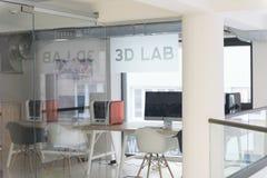 laboratorio 3D Fotografie Stock Libere da Diritti