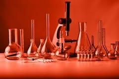 Laboratorio de cristal Imágenes de archivo libres de regalías