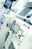 Laboratorio de investigación con hardware dentro Foto de archivo