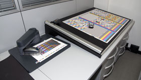 Laboratorio de la colorimetría Fotografía de archivo libre de regalías