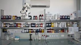Laboratorio de la colorimetría Imagen de archivo