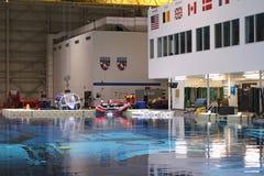 Laboratorio de la flotabilidad neutral - Johnson Space Center Imagen de archivo libre de regalías