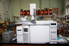 Laboratorio de química Imagenes de archivo