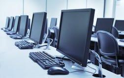 Laboratorio del computer Immagini Stock