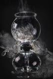 Laboratorio del fumo fotografie stock