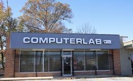 Laboratorio del ordenador de Memphis, Tennessee Imagenes de archivo