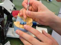 Laboratorio dental Foto de archivo