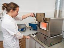 Laboratorio dental Imágenes de archivo libres de regalías