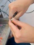 Laboratorio dental Fotos de archivo libres de regalías