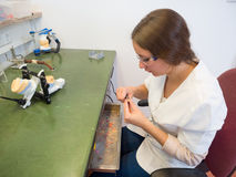 Laboratorio dental Imagenes de archivo