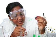 Laboratorio di chimica Immagine Stock Libera da Diritti