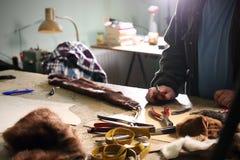 Laboratorio di pelliccia fotografie stock