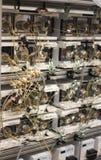 Laboratorio di ricerca di biotecnologia Fotografie Stock