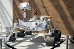 Laboratorio di scienza del Marte di curiosità Fotografia Stock Libera da Diritti