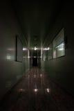 Laboratorio espeluznante del fantasma foto de archivo