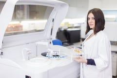 Laboratorio médico Imagenes de archivo