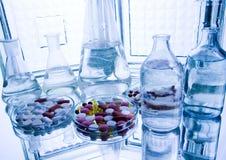 Laboratorio medico Fotografia Stock Libera da Diritti