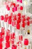 Laboratorio microbiológico imagen de archivo