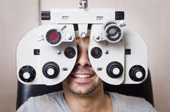 Laboratorio ottico fotografia stock