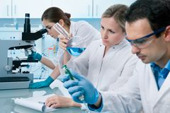 laboratorium Obrazy Stock