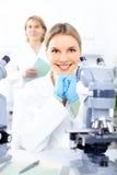 Laboratorium royalty-vrije stock afbeelding