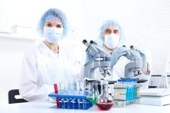 laboratorium Arkivbild