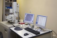 Laboratorium. Royalty-vrije Stock Fotografie