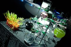 laboratorium alkoholu Zdjęcia Stock
