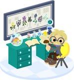 Laboratorium av växter Arkivfoto