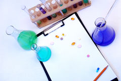 laboratorium badanie Obrazy Royalty Free