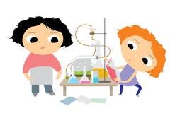 laboratorium chemicznego Obraz Stock